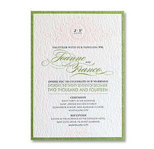 wedding invitations manila philippines letterpress With letterpress wedding invitations philippines