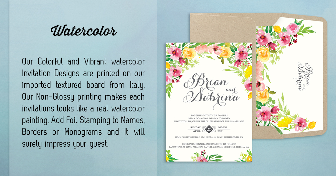 Wedding Invitations Manila Philippines | Letterpress Wedding ...